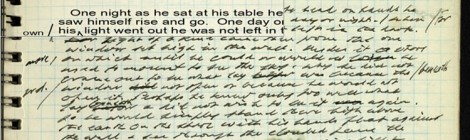 Nasce il Beckett Digital Manuscript Project