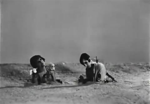 """Luis Buñuel, """"Un Chien Andalou"""" (1929) - fotogramma finale del cortometraggio."""