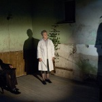 Frank McCusker as Director_ Orla Carlton as Assistant and Dylan Quinn as Protagonist